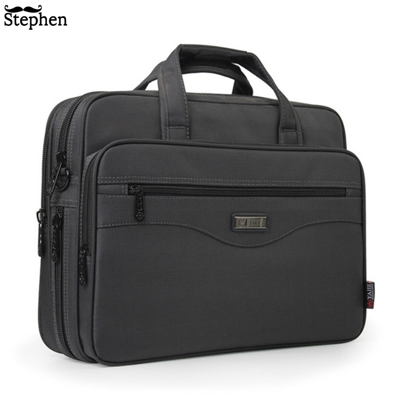 NEW Business briefcase Laptop bag Oxford cloth Multifunction waterproof handbags Business Portfolios Man Shoulder Travel Bags new style school bags for boys
