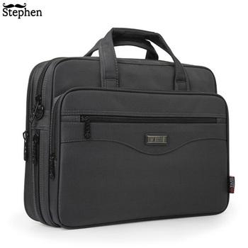 Nowa walizka biznesowa torba na laptopa Oxford tkaniny wielofunkcyjne wodoodporne torebki portfele biznesowe męskie torby podróżne na ramię tanie i dobre opinie FONMOR NYLON Ił kieszeń Pojedyncze Poliester 0 92kg 29 5cm zipper Wnętrza przedziału Komputer pośrednia Wewnętrzna kieszeń