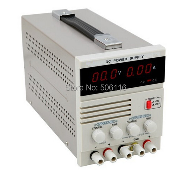 Free ship new Single Channel 30V 5A Variable with Fixed 5V 2A Output, Linear DC Power Supply