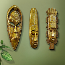 Traditional African Tribal Mask Wall Sculpture