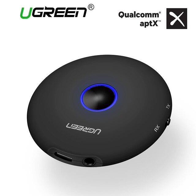 Ugreen Bluetooth аудио приемник передатчик 3,5 мм Aptx Bluetooth адаптер для ТВ наушники динамики Беспроводной аудио передатчик