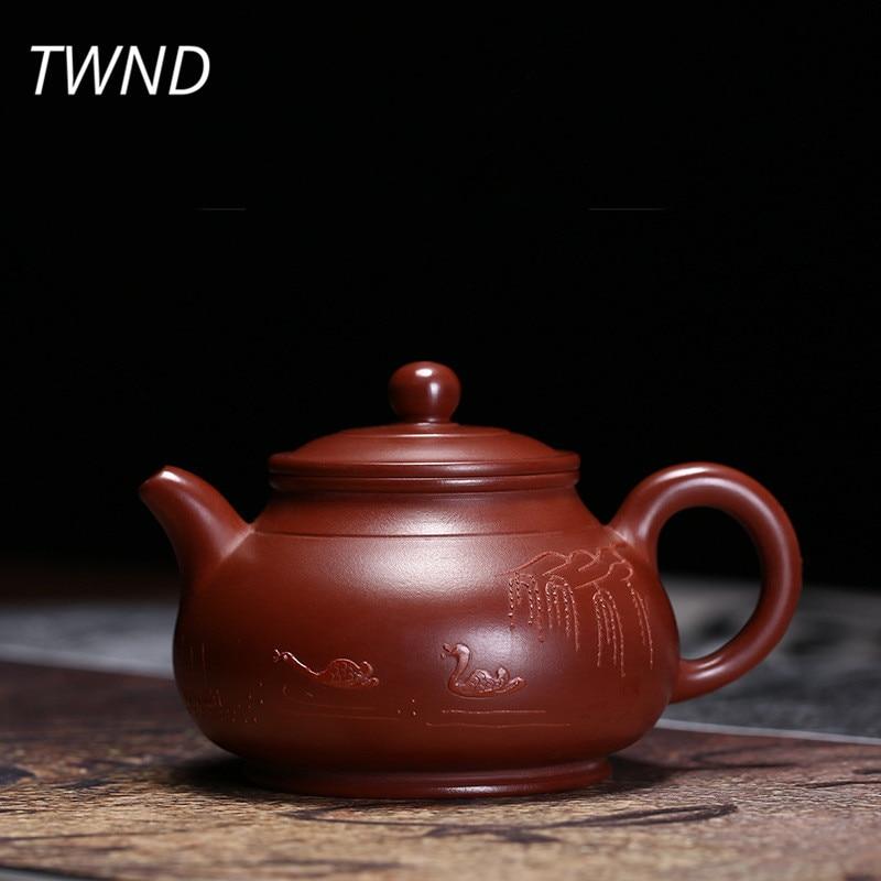 130CC yixing กาน้ำชา dahongpao ni หม้อชาจีน kung fu กาต้มน้ำสีม่วง drinkware ชุด Tie Guanyin สีดำชา 30-ใน กาน้ำชา จาก บ้านและสวน บน AliExpress - 11.11_สิบเอ็ด สิบเอ็ดวันคนโสด 1