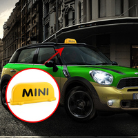 Magnet adsorption Taxi Cab Top Sign Light For BMW MINI COOPER S ONE JCW F54 F55 F56 F60 R55 R56 R60 R61 decoration Accessories