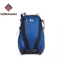 Camping Bags For Men 35L Waterproof Nylon Breathable Internal Frame Women's Sports Outdoor Bags Travel Backpack Rucksack