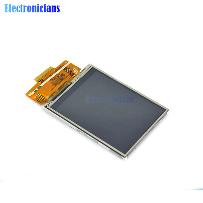 """2.4""""240x320 SPI Serial TFT Color LCD Display Module+ILI9341 Touch Panel Screen"""