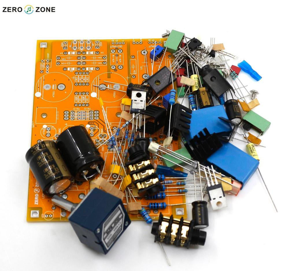 Gzlozone Upgraded Headphone Amplifier Kit Preamp Base On Lehmann Diy Amp Circuit Alps Potentiometer In Circuits From Consumer Electronics