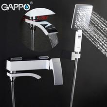 GAPPO смеситель для ванны, дождя, душа, кран для раковины в ванной, настенный кран для ванной, смеситель для ванны, смеситель для воды, кран для раковины, Душевая система