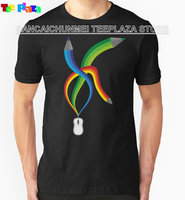 Teeplaza Awesome T Shirts Crew Neck Drawing Day 2010 Short Top T Shirt For Men