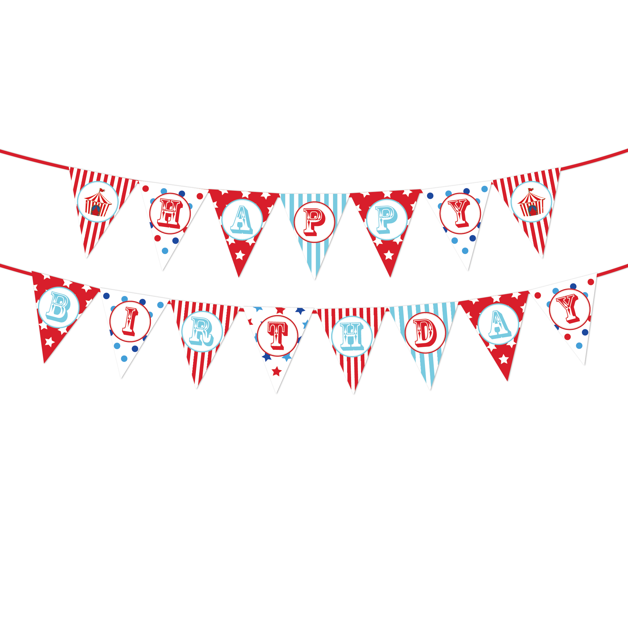 Cartoon Animal Baby Shower Happy Birthday Banner Carnival Circus Theme Birthday Party Decoration Kids Birthday Party Favors