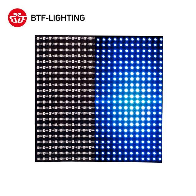 WS2812B Mini Led SMD 2427 Digital Individually Addressable Digital Flexible LED Panel Screen11x44 22x22 Full Dream Color DC5V