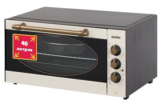 Электрическая Мини печь Simfer M4017 мини печь supra mts 322n
