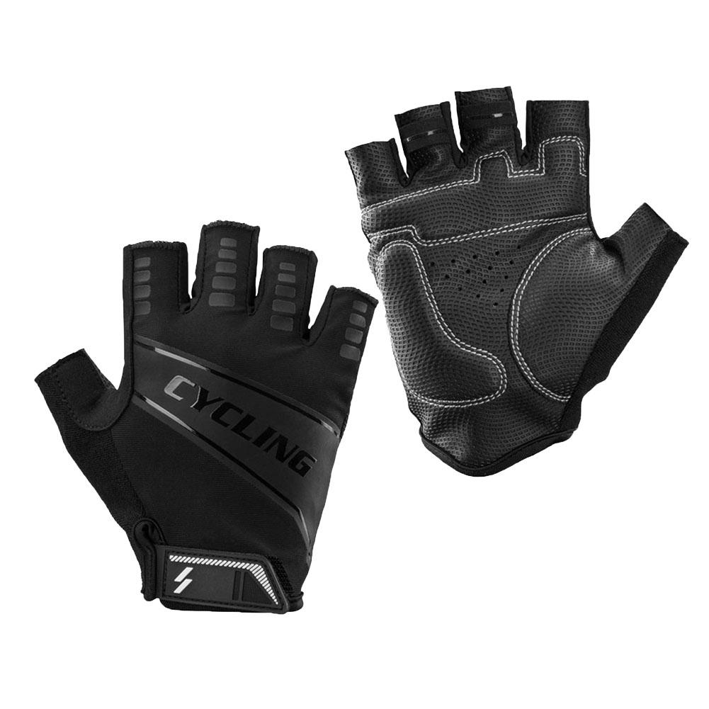 1 Pair Bicycle Breathable Half Finger Gloves for Outdoor Riding Cycling XXL