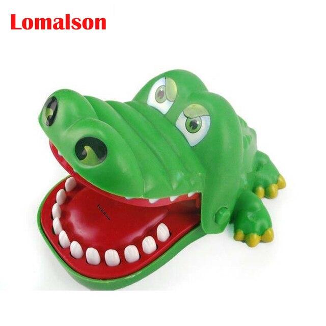 Verde crocodilo louco puxar os dentes para morder brinquedos dedo grande crocodilo  crocodilo crocodilo clássico 7f28407f74