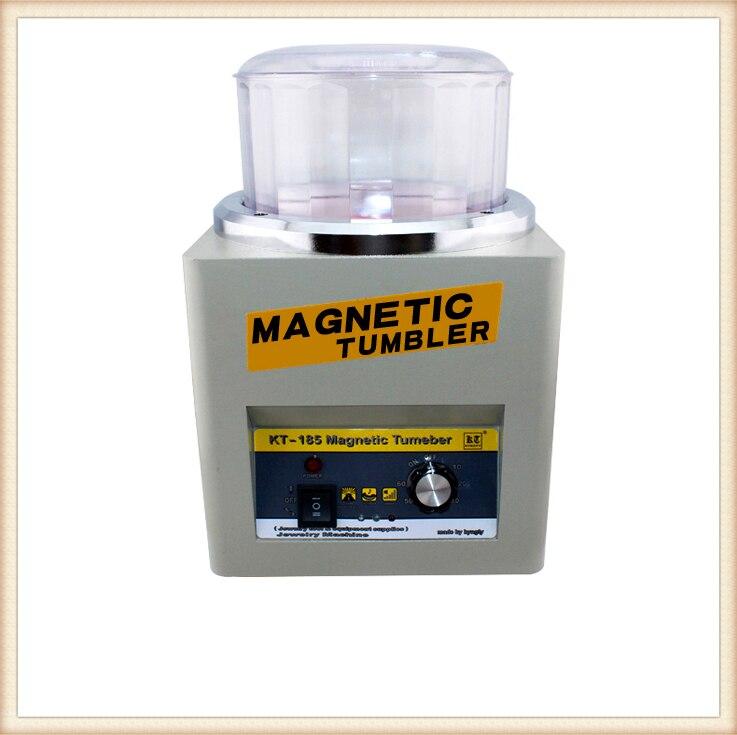 KT-185 Магнитный стакан 16 см ювелирные полировальные инструменты супер отделка, магнитная полировальная машина