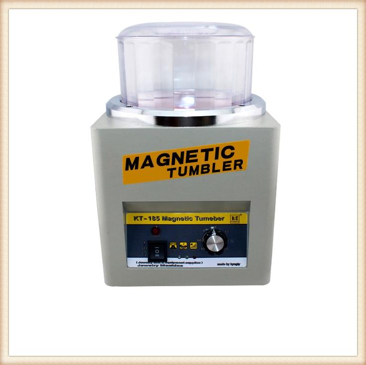 KT-185 Tumbler Magnetico 16 cm Gioielli Lucidatrice Super Finitura, magnetico Macchina di Lucidatura