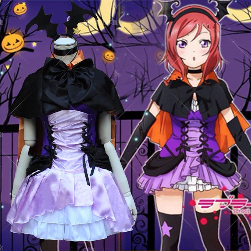 New Japanese Anime Love Live Nozomi Tojo Cosplay Maid