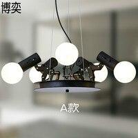 Современный американский индивидуальный светильник паук расширяемый светлый подвесной светильник Масштабируемая лампа для дома/офиса/ба