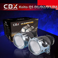Free Shipping 3.0 Koito Q5 Bi-xenon Projector Lens LHD Headlights D1S D2H D2S D3S D4S Bright HID Car Light Retrofit