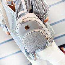 cc4e9a2598 EnoPella femmes sac à dos en cuir sacs d'école pour adolescent filles  pierre paillettes femelle style preppy petit sac à dos