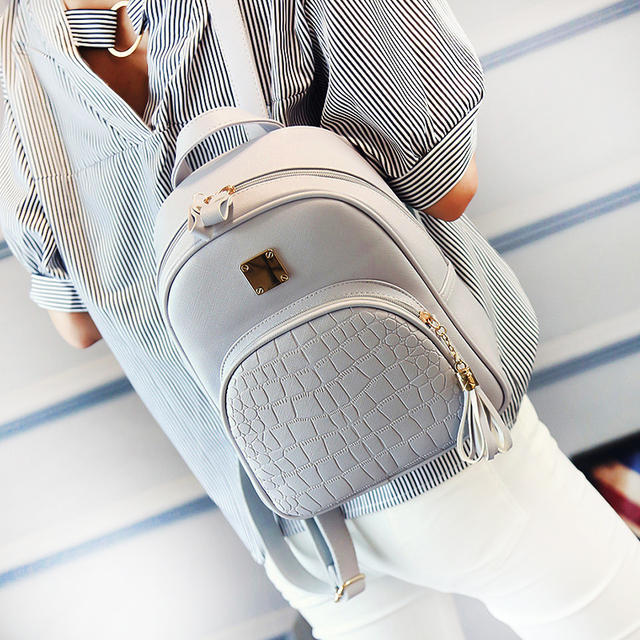 Buy Best Quality Leather Backpack For Teenager Girls
