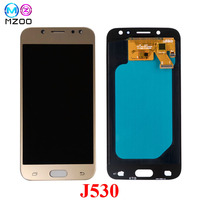 Super AMOLED LCD Screen For Samsung GALAXY J5 2017 J530 LCD Display J530F SM J530FM Touch Digitizer Assembly Tela Replace Parts
