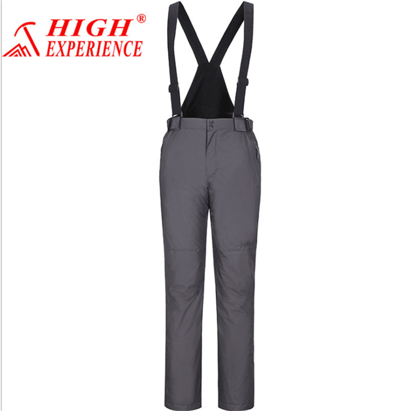 Free Shipping High Quality Men Ski Pants Snowboarding Warm Waterproof Windproof Breathable Skiing Pants High Experience 2017 парка high experience это