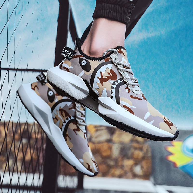 Rommedal Hot Sale 2019 Summer New Tide Sports Running shoes Men Light Jogging Sneakers Male 39 s Fashion Casual Wild Boots 2019 in Men 39 s Casual Shoes from Shoes
