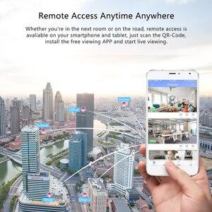Image 4 - Techege 1080p hd câmera ip sem fio wifi 2mp com fio de vigilância vídeo visão noturna câmera segurança em casa rede interior yoosee