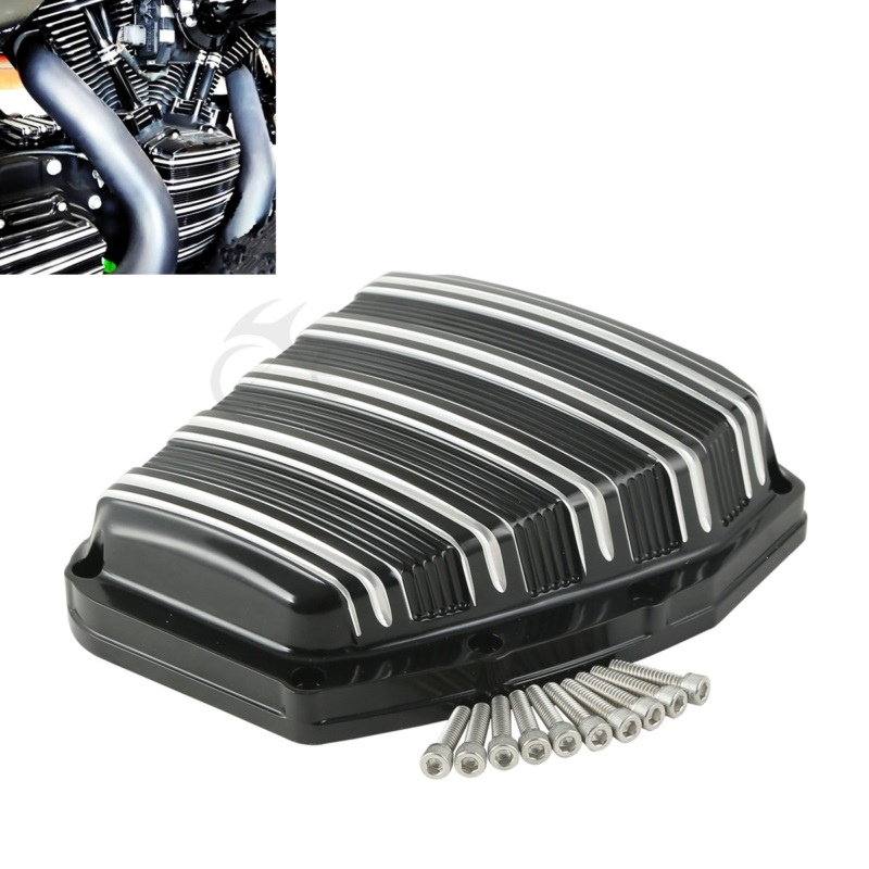 Moto CNC Jauge Cam Couverture Pour Harley Twin Cam Touring Electra Glide Road King Blackline Breakout Dyna Softail 2001- 2017