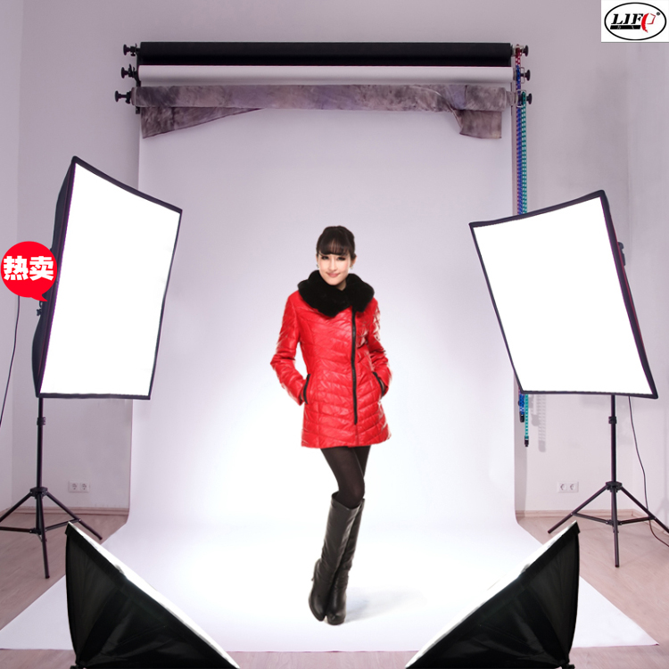 Professional Studio Light Photographic Equipment Softbox Photography Set Clothes Camera Lights Name CD50 In Photo Accessories
