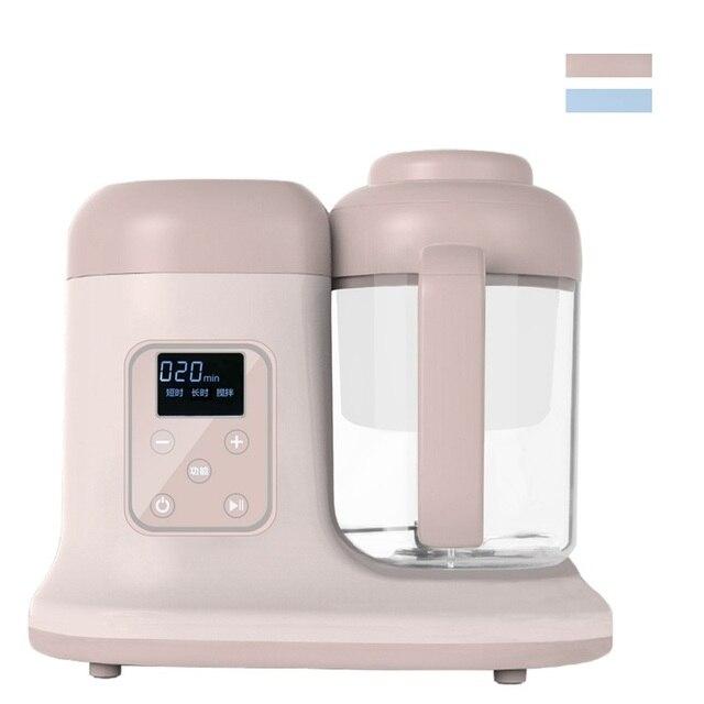 US $41.51 10% di SCONTO|HIMOSKWA 280 ML Mini Robot da Cucina 220 V Macchina  Per Il Bambino Da Cucina di Cottura A Vapore di Cottura Mescolando ...