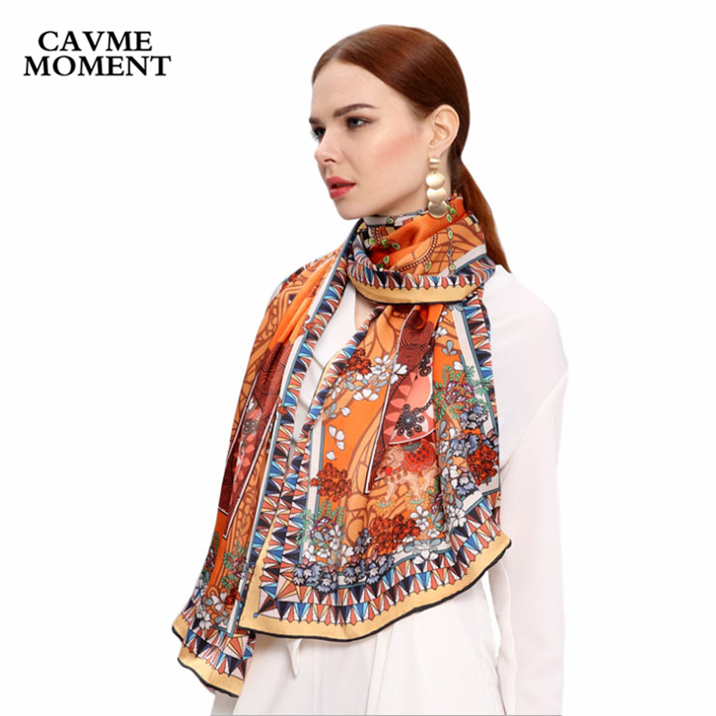 100 Silk Scarf for Women Ladies Silk Scarf China Handmade Printed Luxury Elegant Scarf Women Long