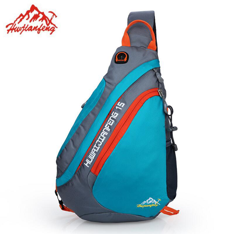 15L Outdoor Shoulder Bag Ultralight Travel Backpack Chest Pack Camping Hiking Trekking Riding Backpack Bicycle Sport Chest Bags