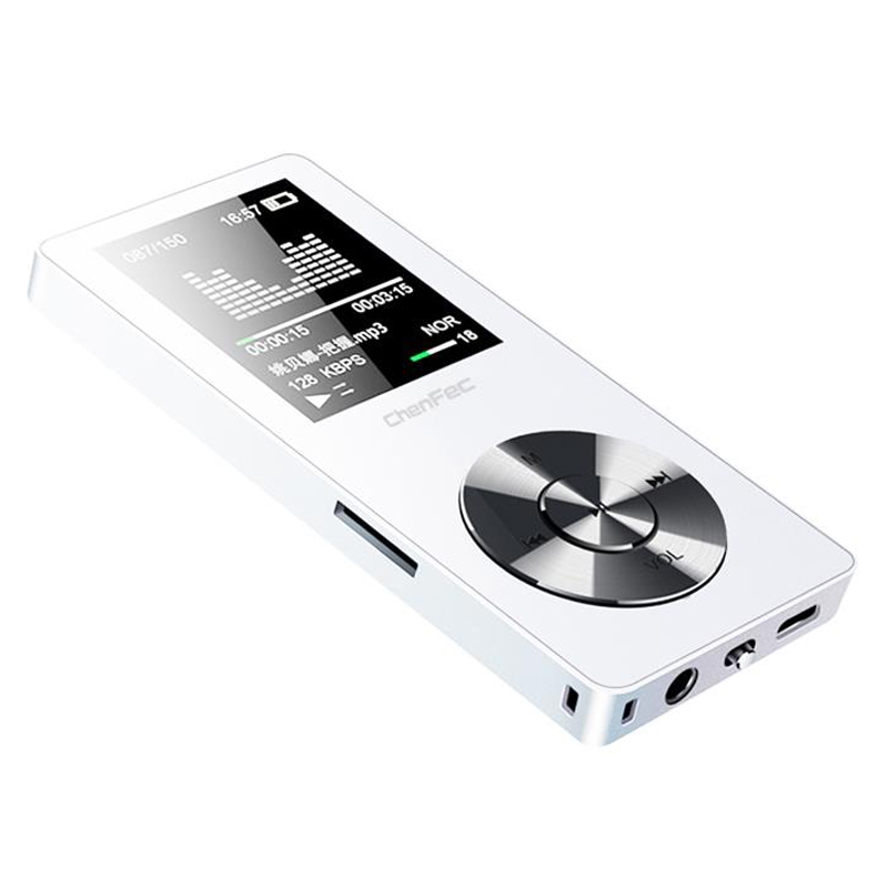 New Metal HiFi Lossless mp3 Player 8GB/16GB with High Quality Sound Speaker Support FM Radio, E-book Record Micro Card 128GB Max