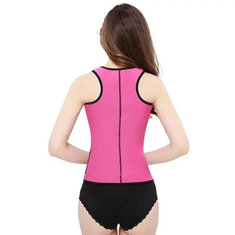 b49a34410b542 Neoprene Waist Trainer Sexy Women Hot Body Shapers Latex Corset 2018 Summer  Female Slimming Belt Shapewear Underwear-in Tops from Women s Clothing ...