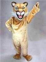 Hot Sale COUGAR Mascot Costume for Halloween Easter Party Costume Animal costume suit