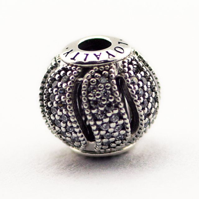 efbc58d2f Fits for Pandora Essence Bracelets Loyalty Charms With Cubic Zirconia 100%  925 Sterling Silver Beads Free Shipping
