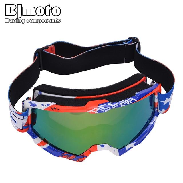 11fa9e5adb BJMOTO Motocross Glasses Moto Men Women Motorcycle Goggle Helmet Off-Road  Goggles Dirt Bike ATV