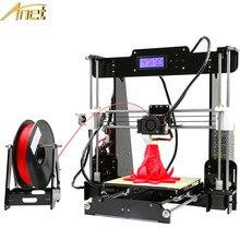 Анет Нормальная и auto level Анет A8 3D принтер самостоятельной сборки RepRap Prusa i3 DIY 3D-принтеры комплект 3D печати + 10 м нити 8 ГБ SD карты