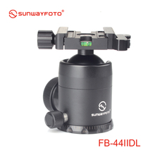 SUNWAYFOTO FB-44IIDL Tripod head for DSLR Camera Tripode Ballhead  Professional Aluminum Monopod Panoramic Tripod Ball Head