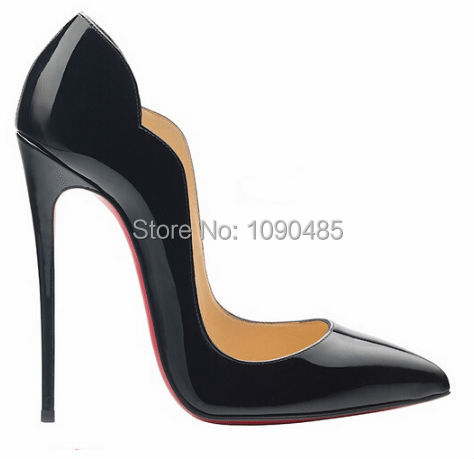 Brand fashion women pumps genuine leather high heel pumps shoes for women sexy pointed toe high heels party wedding shoes woman