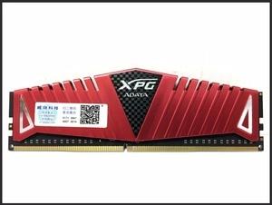 Image 3 - Adata xpg z1 pc4 8gb 16gb ddr4, 3000 3200 2666 mhz pc ram de memória dimm 288 pinos ram de memória ram interna do desktop 3000mhz 3200mhz