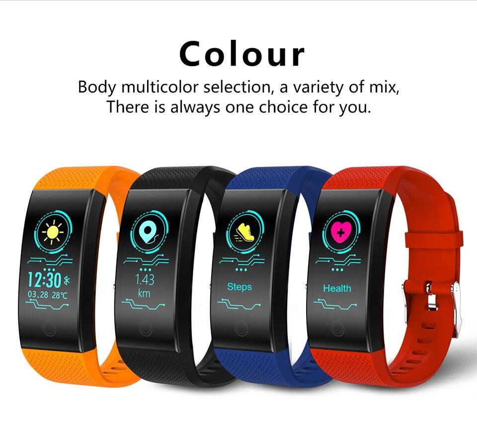 HTB1AjBnDL1TBuNjy0Fjq6yjyXXaz TimeOwner Smart Bracelet Waterproof Heart Rate Monitor Smart Band Sport Passmeter Calories Mileage Multi Sport Fitness Tracker