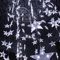 3 m 50 SMD LED Light String 10 pcs Grandes Estrelas LEVOU Fundo Do Casamento Decoração Festa de Natal Luz