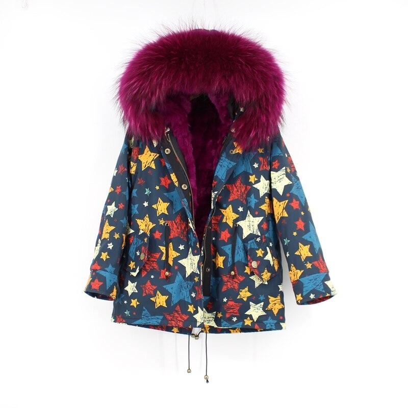 child winter real fur parkas coat (1)