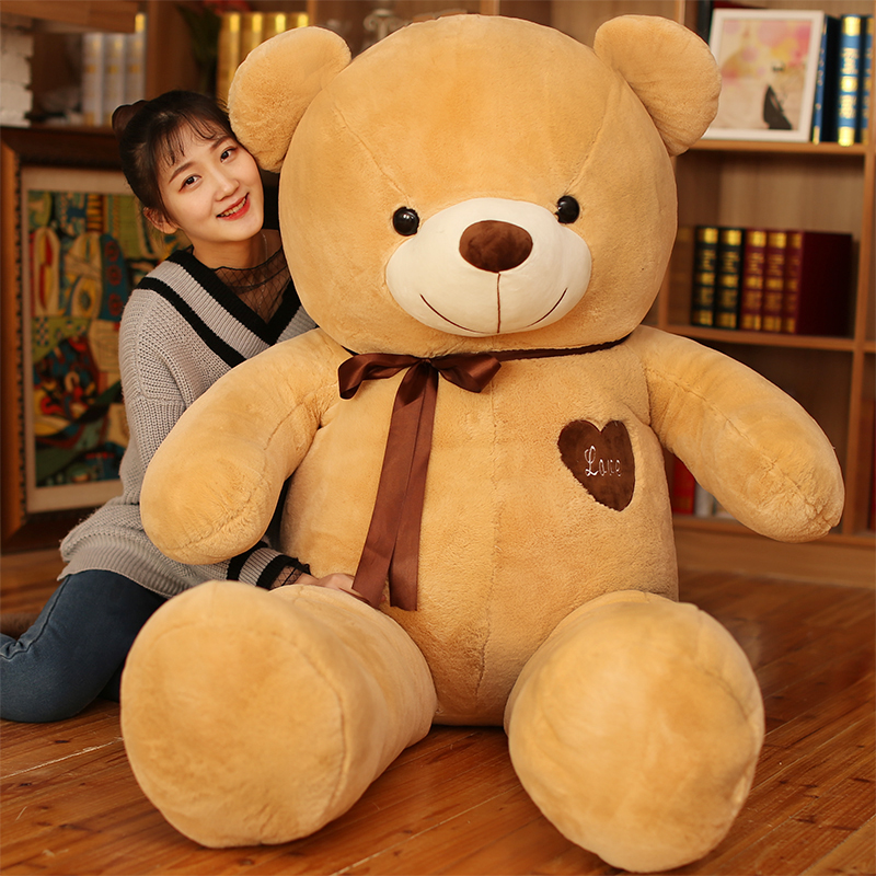 Selling Toy Big Size American Giant Bear Skin ,Teddy Bear Coat ,Good Quality Factary Price Soft Toys For Girls 40-80cm