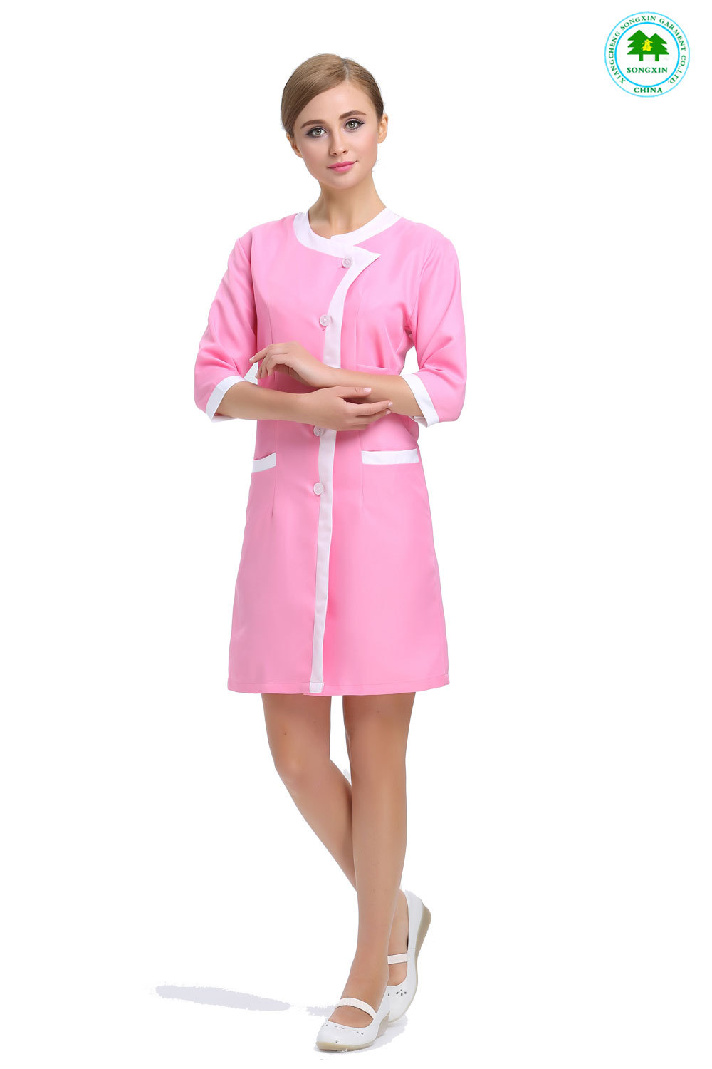 Online buy wholesale spa uniform from china spa uniform for Spa uniform female