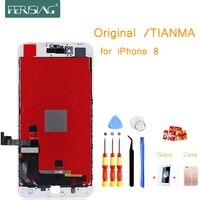 I8 OEM/TIANMA A + Завод ЖК-экран для iphone 8 экран дисплей часть стеклянная Сенсорная панель дигитайзер сборка полная для iphone 8