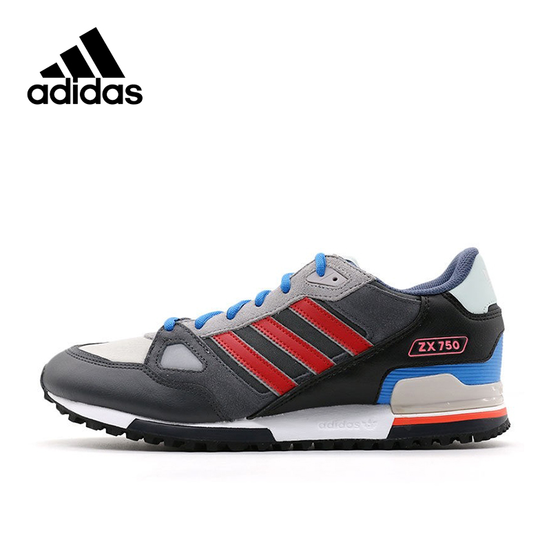 Official New Arrival Adidas Originals ZX 750 Men's Low top Skateboarding Shoes Sneakers Classique Shoes
