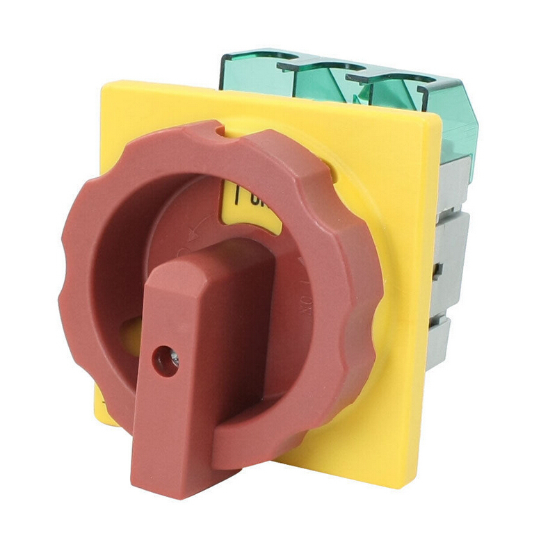 GLD2-100A AC 690V 100A Cut off 6 Screw Terminals Rotary Combination Switch